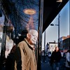 Bus stop halo (deepstoat) Tags: street colour london 120 6x6 tlr film mediumformat candid roll yashicamat124g kodakportra autaut deepstoat