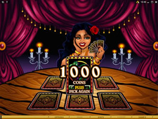free Gypsy Queen gamble bonus game