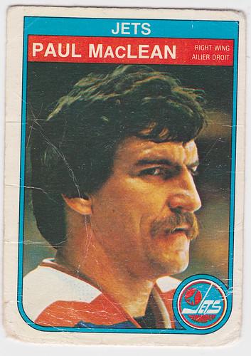 Paul MacLean 1982-83 front