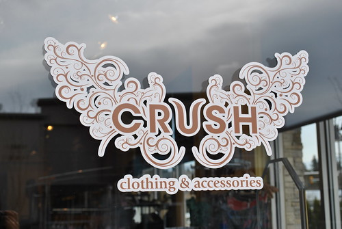 Crush Clothing boutique in South Surrey