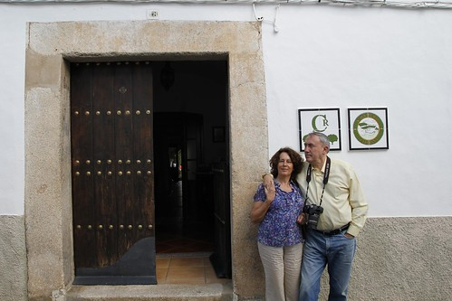 """Entrada a la Casa Rural """"La lozana"""""""