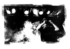 (noizmann) Tags: bw music darkroom live casinoroyale kodaktmax3200 cameraoscura cartabaritata