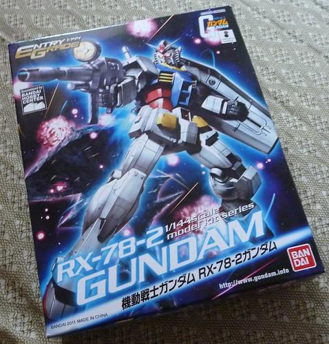EG 鋼彈RX-78-2:外盒