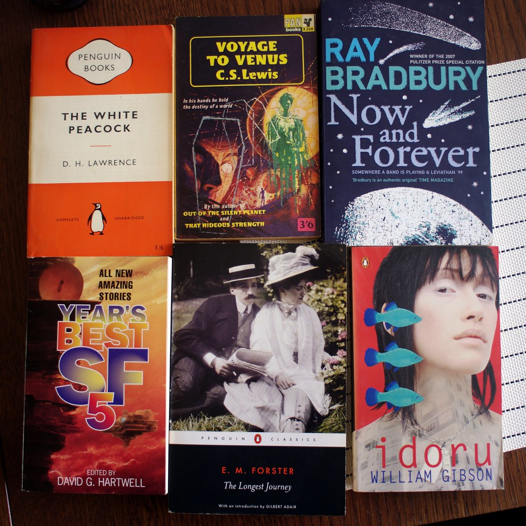nice finds at second-hand book market in Leiden