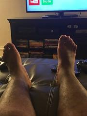 IMG_8941 (_bagent1) Tags: myfeet boyfeet chubbyfeet barefeet bearfeet thickfeet chubbytoes chubby chubbysoles soles slides sandals tops toes
