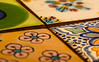 tile (öppel) Tags: glaze glazed ceramic tile floor ground floortile tiling makro macro micro pattern sample design nikon d7100 sigma 105mm os hsm germany