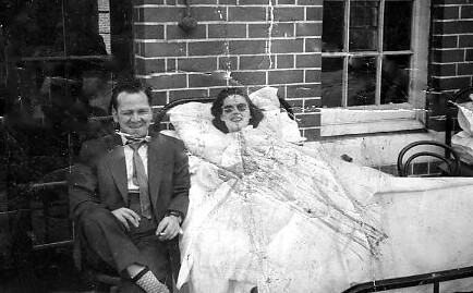 Sadie Reynolds Robroyston Hospital 1960s