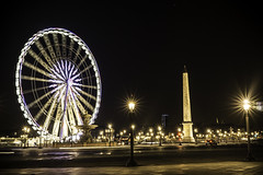 """Place de la Concorde, Paris."" (luckyice38) Tags: paris concorde france placedelaconcorde placeofconcorde sonya6000 a6000 sonyalpha6000 night parisbynight bynight february 2017"