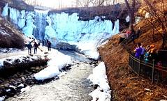 Minnehaha Falls - Minneapolis (Galactic Dawn) Tags: minnehaha minneapolis minnesota usa winter waterfall park