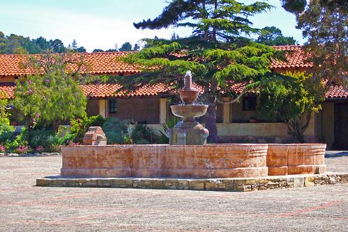 Carmel Mission Fountain