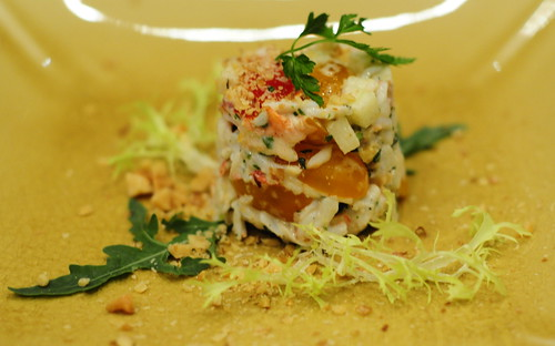 Salad of Hokkaido Crabmeat with Apple & Walnut