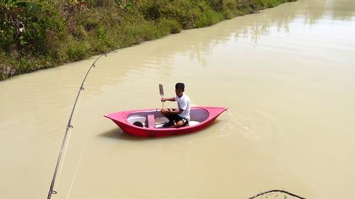 Koh Samui Skylake fishing park コサムイ 淡水魚 釣り0009