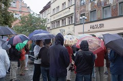 Regentag in Konstanz