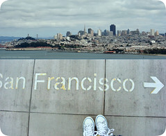 (ShanLuPhoto) Tags: sanfrancisco california city travel summer usa skyline america train buildings caltrain diptych shoes downtown trainstation bayarea   mondayblues   loolooimage