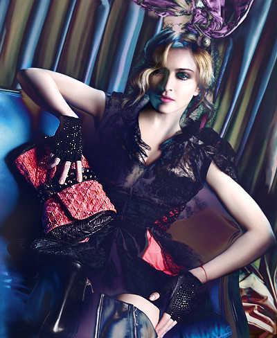 Madonna for Louis Vuitton Campaign Fall 2009/ Winter 2010