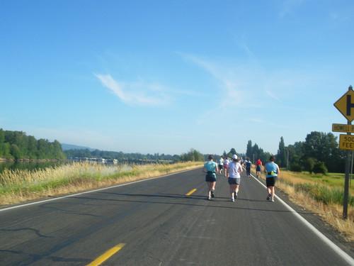 Foot Traffic Flat Half Marathon 8