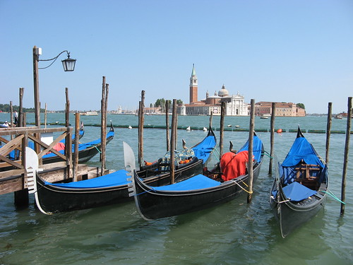 San Giorgio and Gondolas