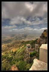 Sicily :: Erice :: il castello di Venere ([ Michel ]) Tags: castle photoshop canon sigma wideangle sicily 1020 hdr erice sigma1020mm photomatix groothoek sigma1020 canoneos450d adobephotoshopcs4 photoshopcs4 trolledproud