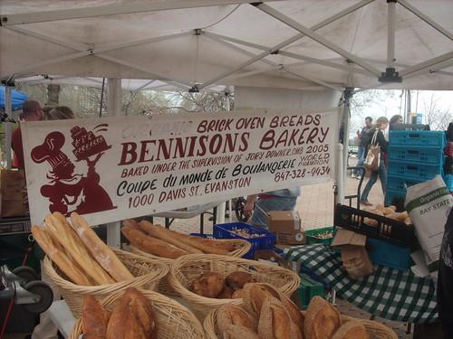 Bennison's Bakery Stall