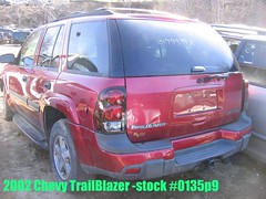 02 Chevy Trailblazer -Stock# 0135p9