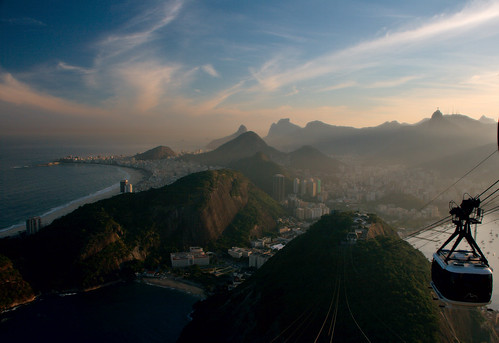Rio de Janeiro seen from Sugarloaf Mount by Christian Haugen, on Flickr