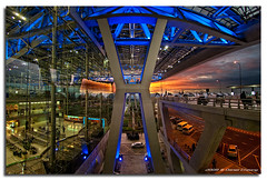 Suvarnabhumi  on Fire! #1 (DanielKHC) Tags: sunset digital thailand high airport nikon dynamic dusk bangkok fisheye range dri increase hdr blending d300 nikkor105mmf28 suvarnabhumi danielcheong danielkhc
