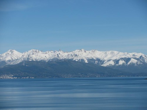 view of Bariloche and Cerro Catedral