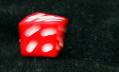rolling dice (Dany Morgens) Tags: red dice black blur rot blurry wrfel cwd cwd1322
