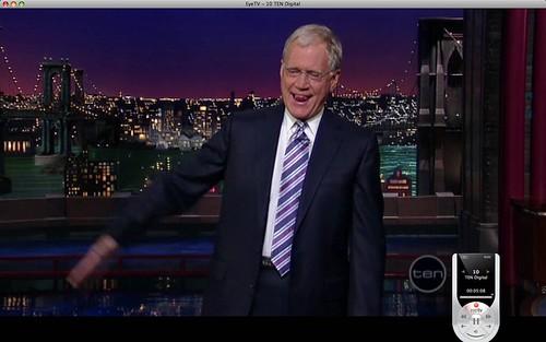 Letterman's Tie