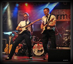 Eine Nacht im Star-Club des OCW 2009 mit Lee Curtis & the Bonds, The Diamonds and The Quinns