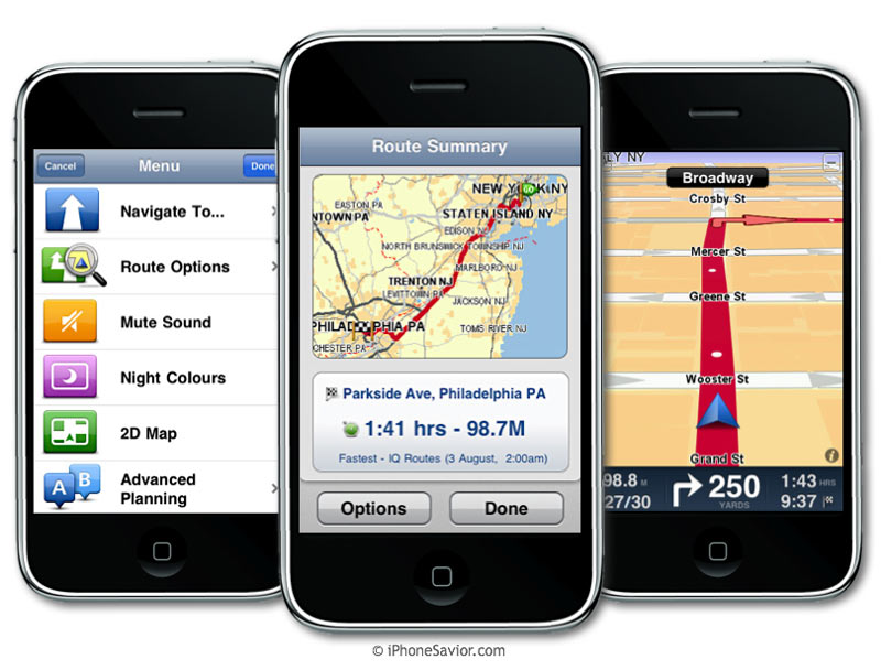 iphone savior tomtom iphone navigation makes u s app store debut rh iphonesavior com iPhone 3 Manual User Guide Apple iPhone A1241 User Guide