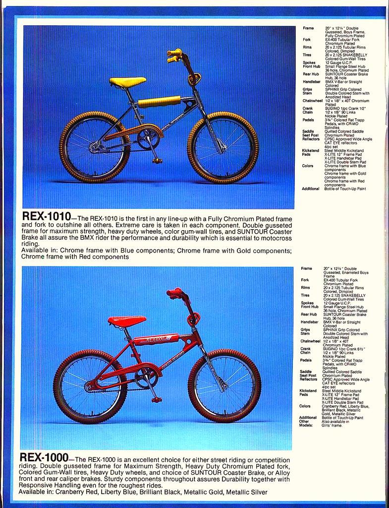 83 Royal Enfield BMX lineup