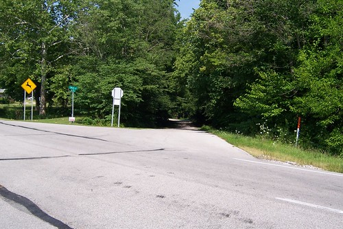 Old US 40/Natl Rd alignment, Putnam County