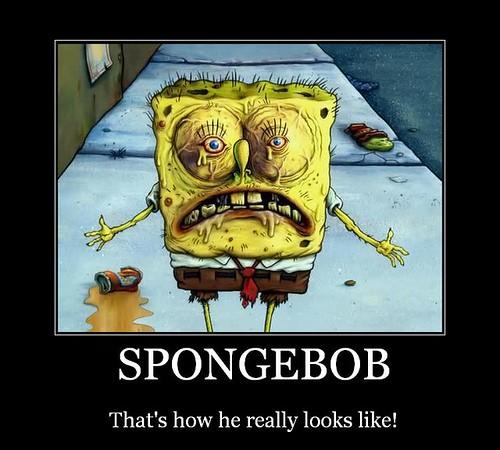 funny spongebob pictures. Spongebob Motivator!