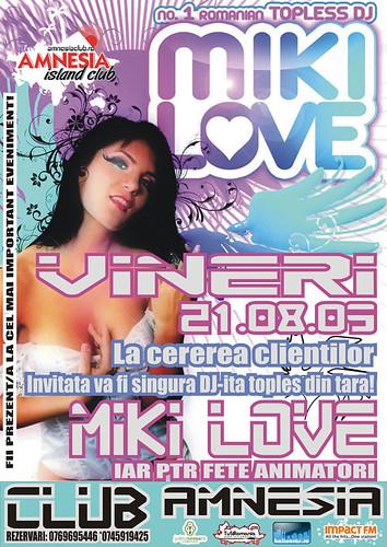21 August 2009 » DJ Miki Love