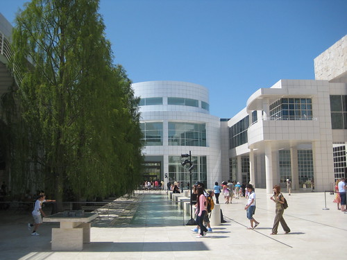 The Getty Center plaza