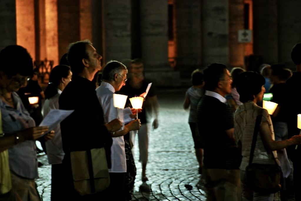 Prayers at Vatican  City