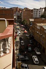 Calle del Carbon, la Paz, Bolivie