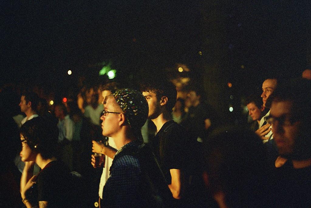 evening crowd