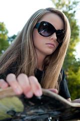 Kayla Woodland 7 (paulmhooper) Tags: girl beautiful bench photography model nikon modeling lexington kentucky skateboard skater kayla woodlandpark skatergirl modelphotography girlskater nikond90