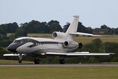 G-REYG - Private - Dassault Falcon 900EX - Luton - 090709 - Steven Gray - IMG_0408