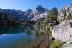 Next morning (supersky77) Tags: california ca lake beauty lago sierra trail rae wilderness sierranevada sentiero day15 muir johnmuir jmt highsierra kingscanyon johnmuirtrail raelakes