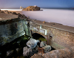 Sutro Baths (Andy Frazer) Tags: sanfrancisco longexposure nightphotography lightpainting sutrobaths cliffhouse sealrock adolphsutro