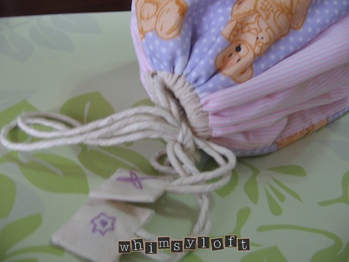 Purple Teddies Drawstring 3