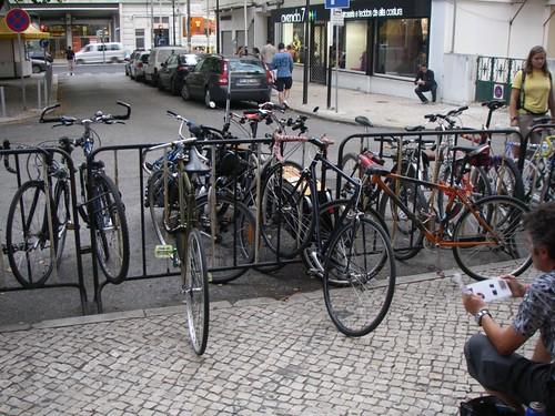 As bicicletas do pessoal