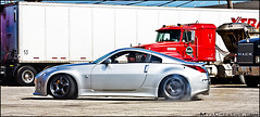 Greddy Twin Turbo Nissan 350z (jeremycliff) Tags: cliff chicago building canon japanese illinois track nissan garage fast twin jeremy turbo rig z tt tuner custom import 350z rolling jdm modded brembo greddy z33 nissan350z advan jeremycliff chicagozcom myacreativecom turbo350z jdmchicagocom