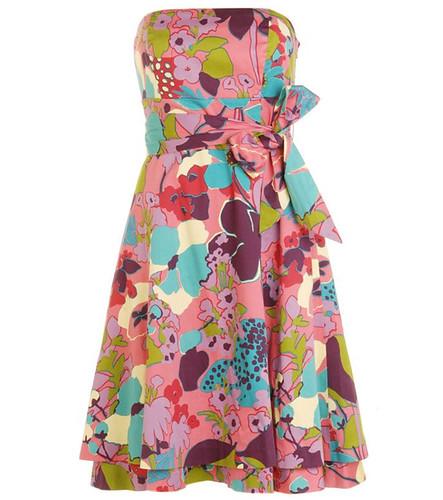 modelo de vestido estampado