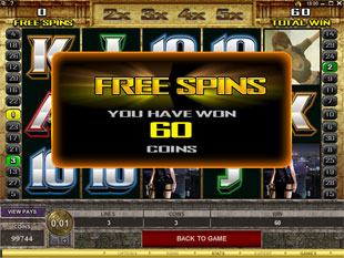 free Tomb Raider - Secrets of the Sword Free Spins