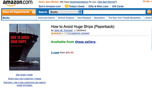 How to Avoid Huge Ships (Paperback)