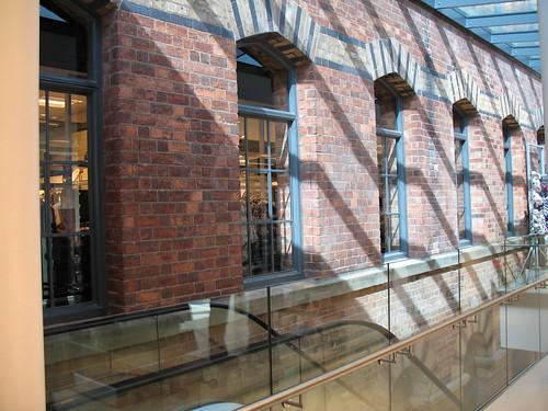 Brickwork inside Debenhams 1